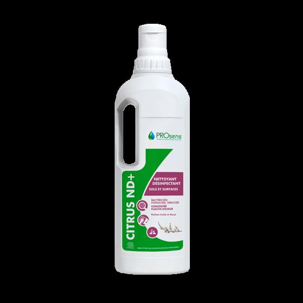 Citrus ND+ adn nord nettoyant desinfectant ecocertifié
